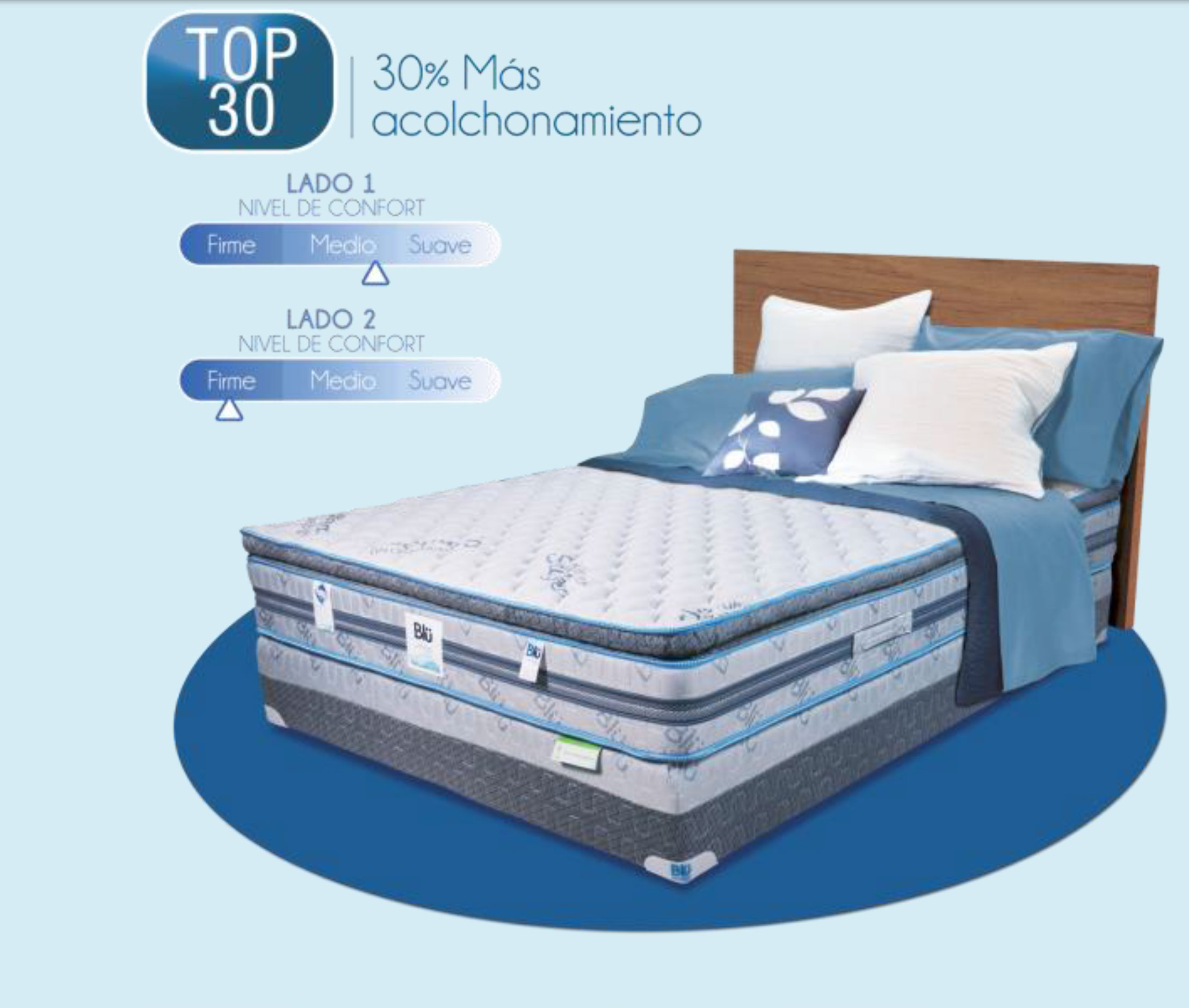 Bl comfort top 30 camas muebles para rec mara for Cama olympia