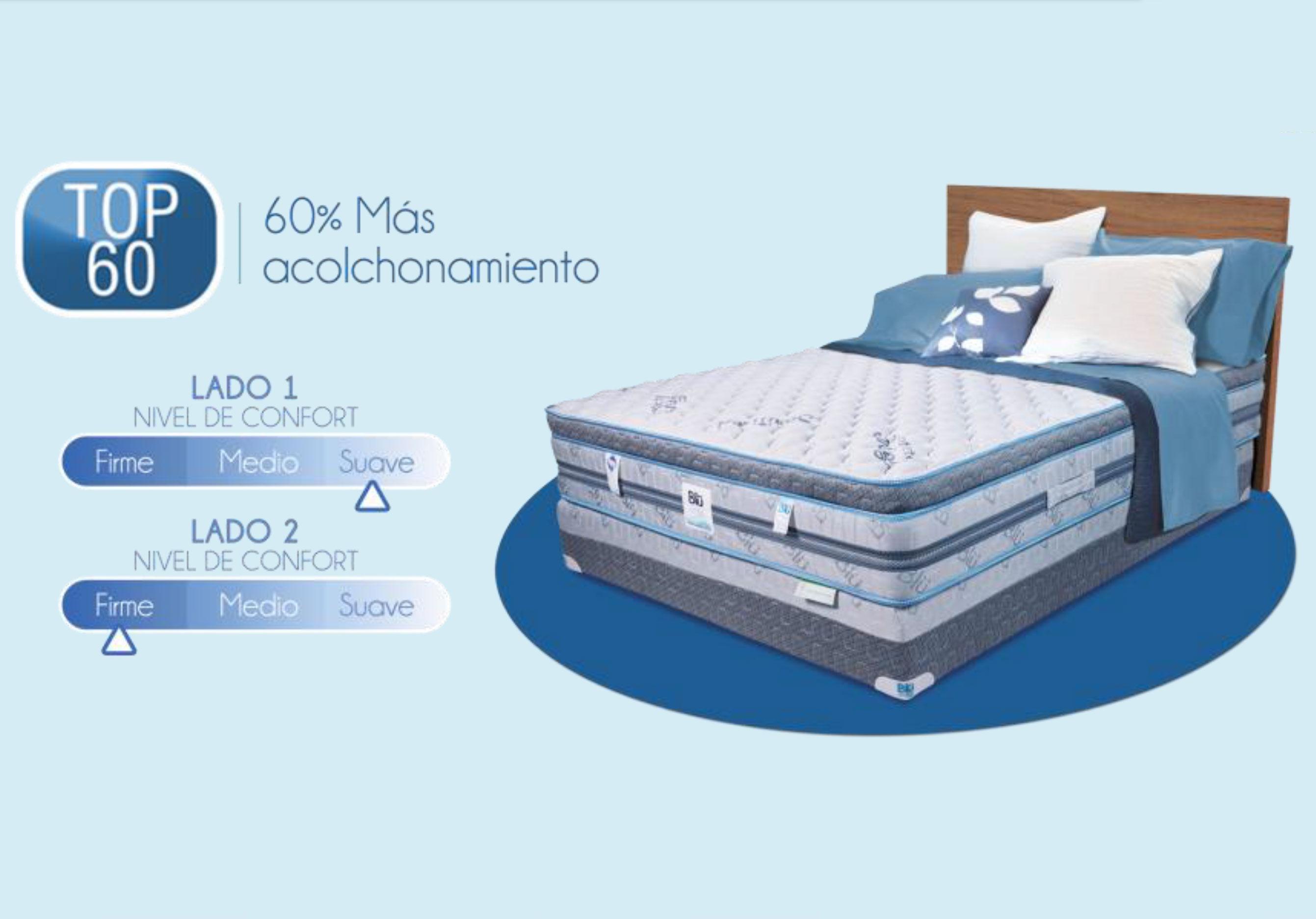 Bl comfort top 60 camas muebles para rec mara for Cama olympia