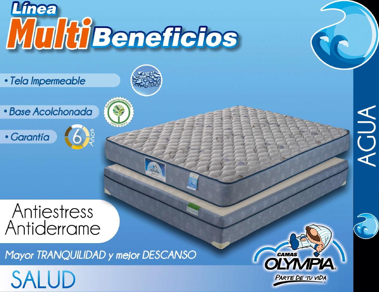 Olympia antiestr s antiderrame camas muebles para for Cama olympia